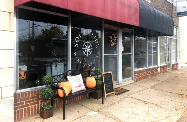 The wine shop will open at 11 a.m. on Thursday, October 31. - LIZ MILLER