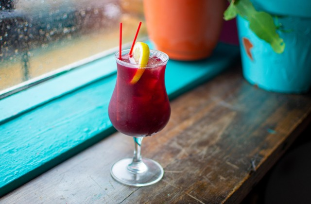 The Purple Margarita at Taco Circus - ELLEN PRINZI