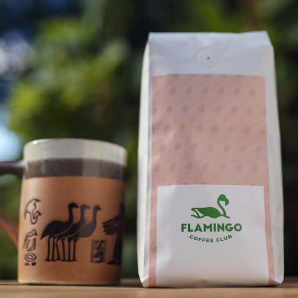 Flamingo Coffee Club recently soft-launched with a trial subscription service on its website. - TANGENT MIND