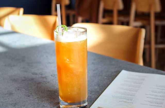 Death of a Bartender is made with Fernet, Plantation Rum, lime, pineapple, cinnamon and brown sugar simple syrup and Angostura bitters. - LAUREN SHELLEY