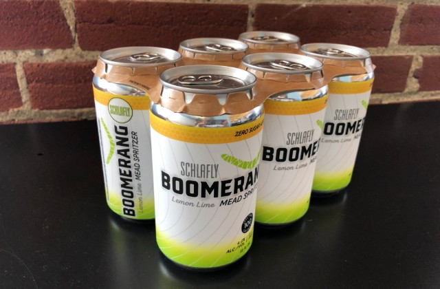 At under 100 calories, Boomerang is poised to compete with the current hard-seltzer craze. - LIZ MILLER