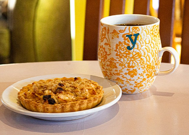Menu items include housemade vegan sweet or savory pastries. - COURTESY PROTAGONIST CAFE