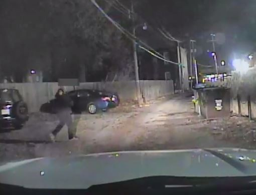 Dash camera footage captured the moments prior to a fatal police shooting. - SLMPD