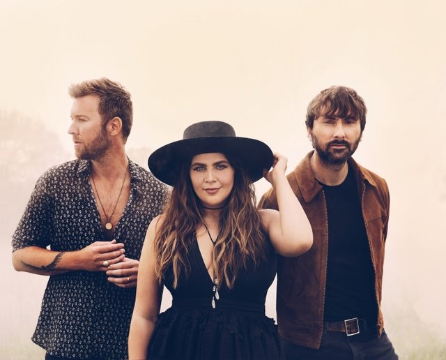 Lady Antebellum will perform at Hollywood Casino Amphitheatre on Saturday, August 15, - VIA THE GREEN ROOM PR