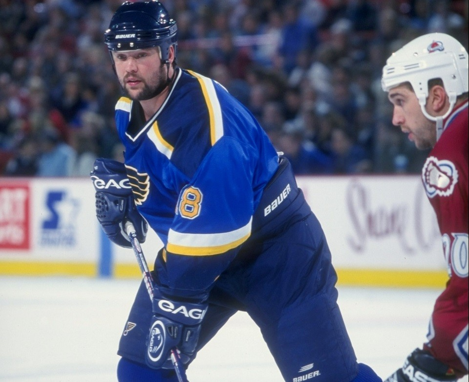 Tony Twist was the most feared enforcer in the NHL for a long stretch. - COURTESY OF THE ST. LOUIS BLUES