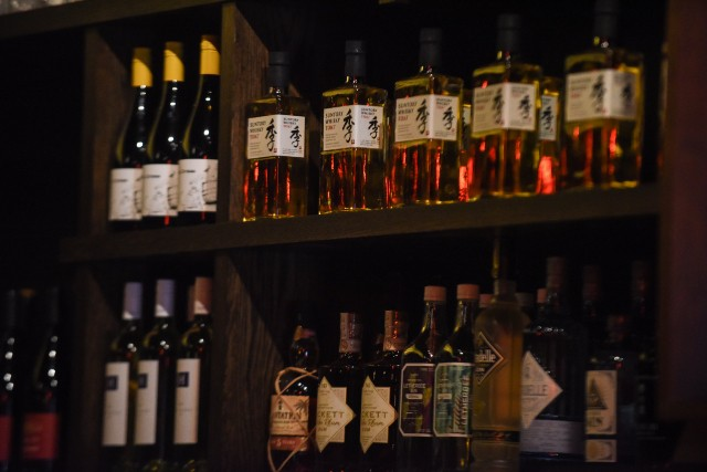 Another peek behind the bar. - TRENTON ALMGREN-DAVIS