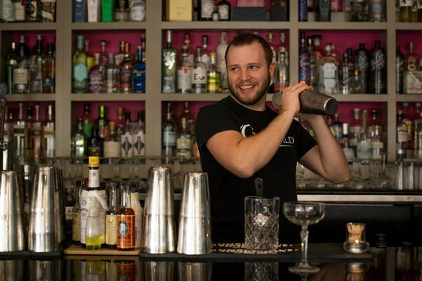 Dale Kyd, Gin Magazine's Bartender of the Year, faces an uncertain future thanks to the COVID-19 pandemic. - MONICA MILEUR