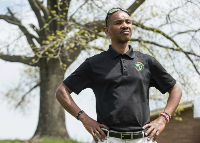 Geoffrey Soyiantet is the founder of Vitendo4Africa. - TRENTON ALMGREN-DAVIS