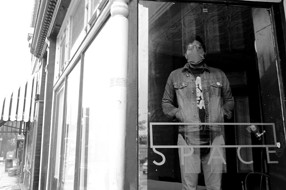 Kaveh Razani of Blank Space. - NATE BURRELL