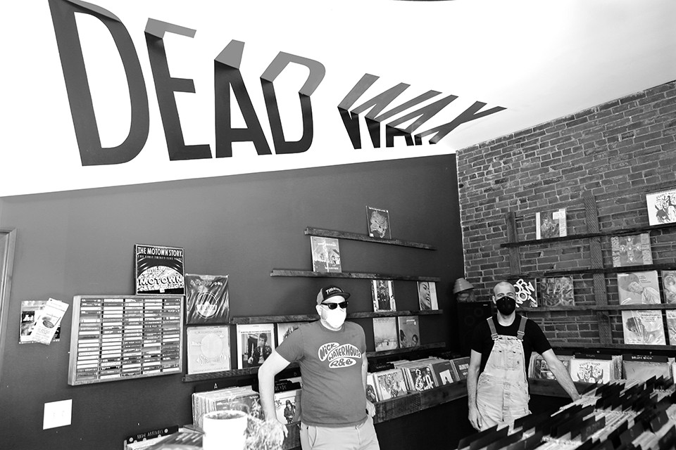 Dead Wax's Jake Kamp and Jeremy Miller. - NATE BURRELL