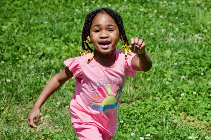 Rogers is eager for Angele (pictured), Angelo and Angelino to be outside but is fearful of letting them play with children in the neighborhood. - WILEY PRICE/ST. LOUIS AMERICAN