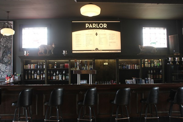 Parlor, the popular Grove arcade bar, is the epicenter of a sexual assault reckoning that is rocking the Grove. - MELISSA BEULT