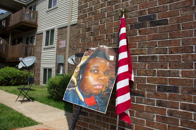 Michael Brown's family called for a new investigation into Darren Wilson on the five-year anniversary of the teen's death. - DANNY WICENTOWSKI