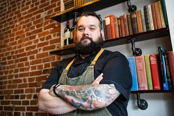 For Polite Society's Daniel Sammons, independent restaurants are worth fighting for. - JEN WEST