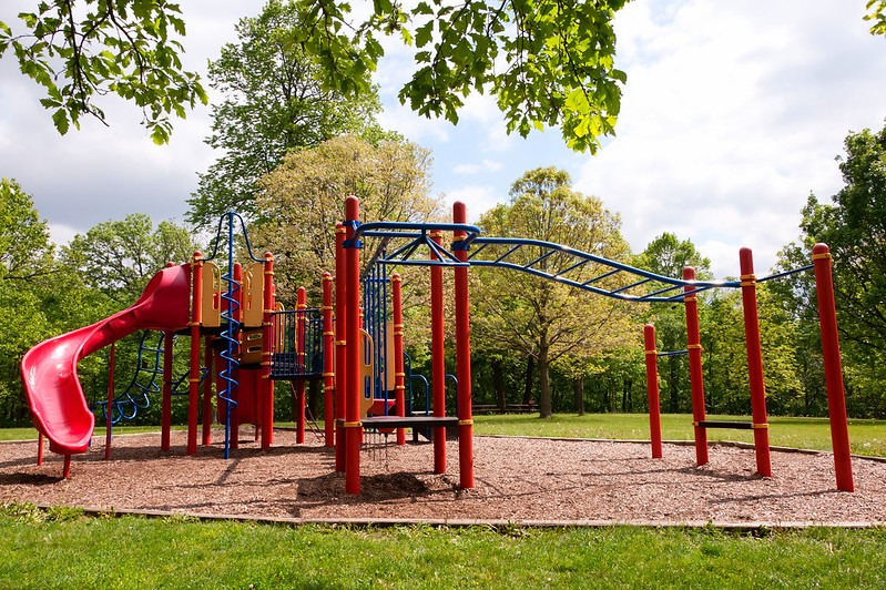 Playgrounds are coming back in St. Louis County. - CARL WYCOFF/FLICKR