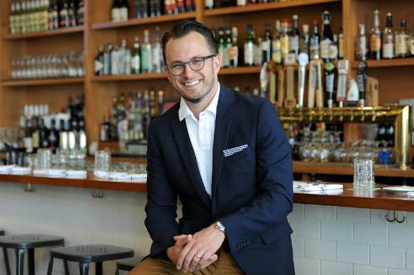 Elmwood's Chris Kelling looks for every chance he can find make a genuine connection with his guests. - HOLLY RAVAZZOLO
