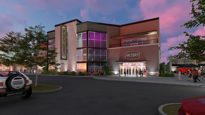 A rendering of what the Factory will look like once it is complete. - VIA THE FACTORY