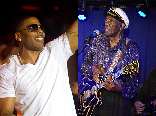 Nelly will portray the late Chuck Berry in the upcoming film. - ERIN KINSELLA/STEVE TRUESDELL