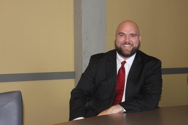 Attorney Dave Roland. - SARAH FENSKE