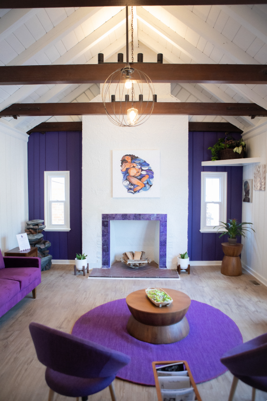 The new home of Jamaa Birth Village offers a welcoming space to expectant mothers. - CHRIS RYAN, COURTESY THESTL.COM