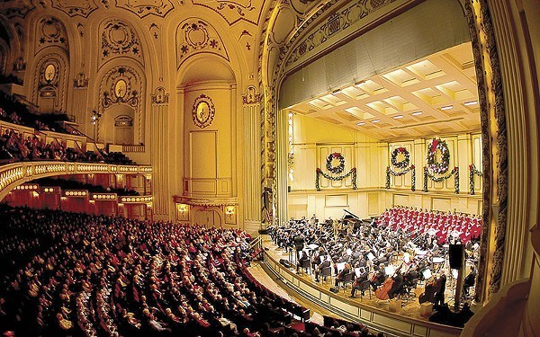 All the grandeur of a world-class orchestra, to be enjoyed from the comfort of your home. - COURTESY OF THE SLSO
