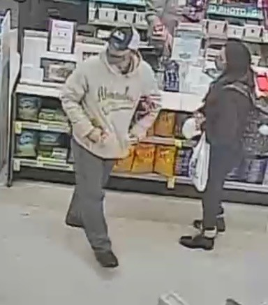 Persons of interest in the funeral home's van theft. - COURTESY ST. LOUIS COUNTY POLICE