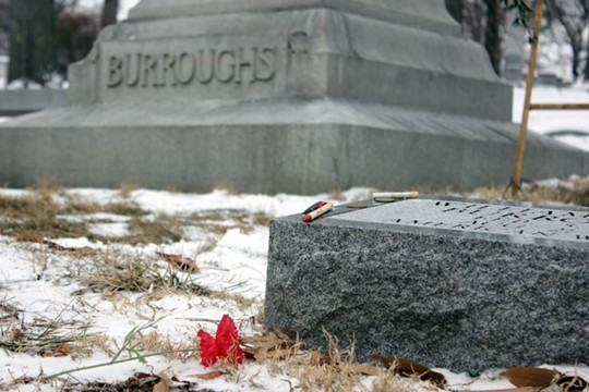 Rush Limbaugh will lay near William S. Burroughs for all eternity. - DANNY WICENTOWSKI