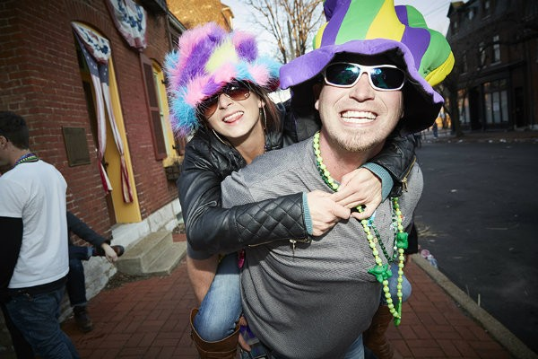 Mardi Gras is back. - PHOTO BY STEVE TRUESDELL.