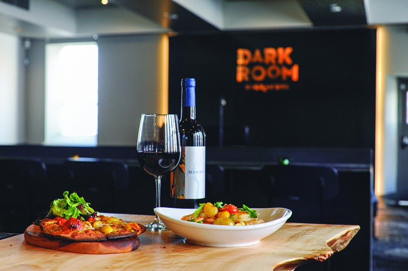 Food, drinks and live music await at the newly reopened Dark Room. - PHOTO BY KELLY GLUECK