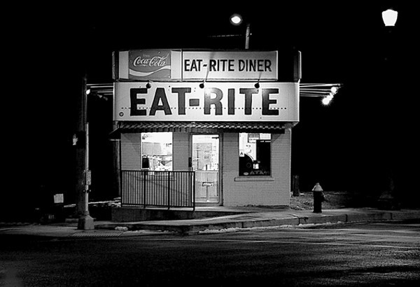 Open 24 hours a day, Eat-Rite Diner sits on the edge of downtown. - PHOTO COURTESY OF FLICKR/PHIL ROUSSIN