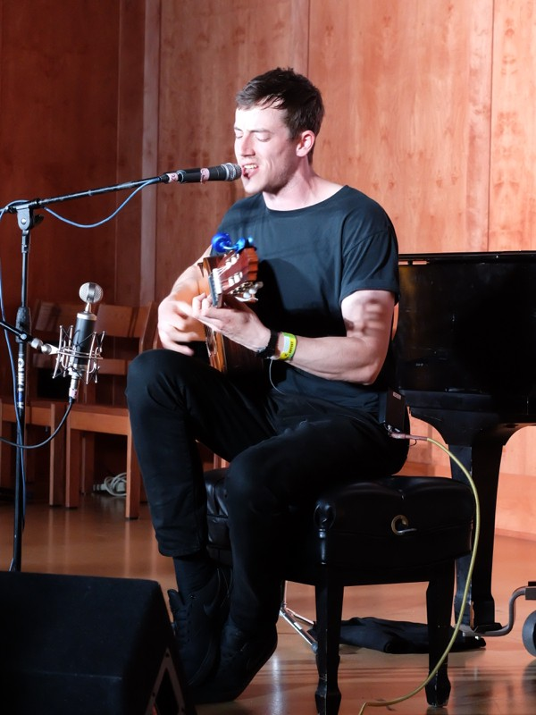 Charlie Cunningham at St. David's - DANA PLONKA
