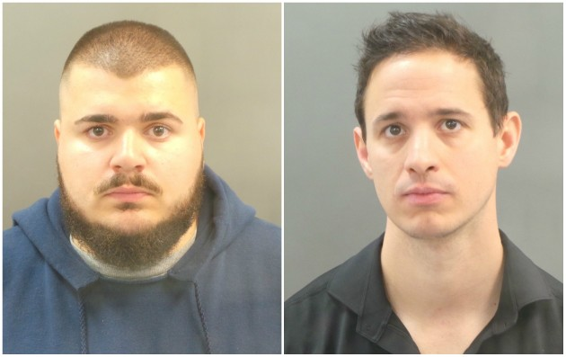 St. Louis police officer Emin Talic and Daniel O'Brien were among four cops charged in an alleged payroll scam. - IMAGES VIA SLMPD
