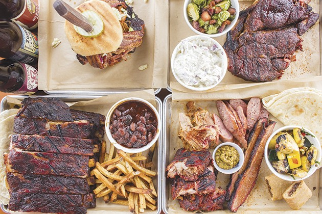 Beast Craft BBQ: one of the 40 restaurants we love in 2017. - PHOTO COURTESY OF MABEL SUEN
