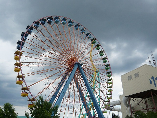 A Ferris wheel in Sandusky, Ohio. - COURTESY OF FLICKR/TIM LENZ