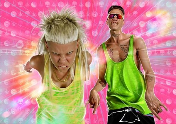 Die Antwoord will perform at the Pageant on Thursday, August 17. - PRESS PHOTO