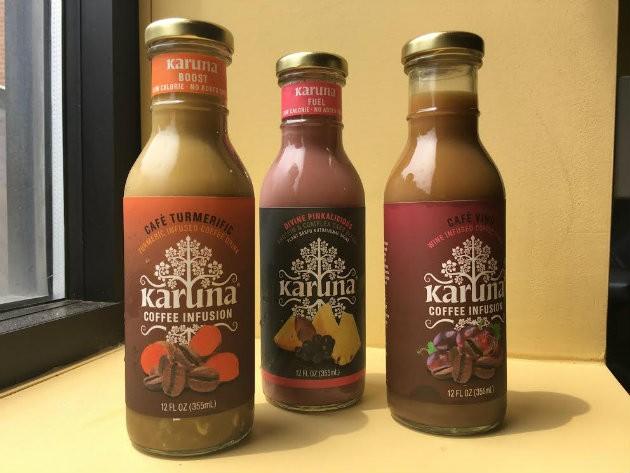 Karuna drinks are a St. Louis-based alternative. - KELLY GLUECK