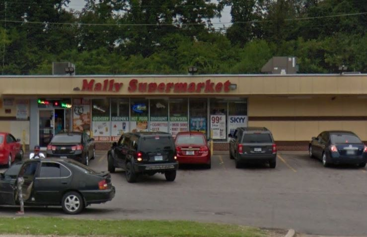 Mally's Supermarket in Jennings is reportedly one of the convenience stores targeted in a raid today. - VIA GOOGLE