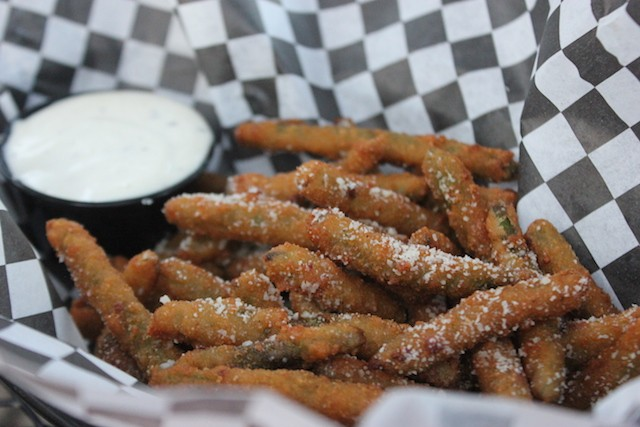 """Crispy Green Beans"" ... as the name says. - PHOTO BY SARAH FENSKE"