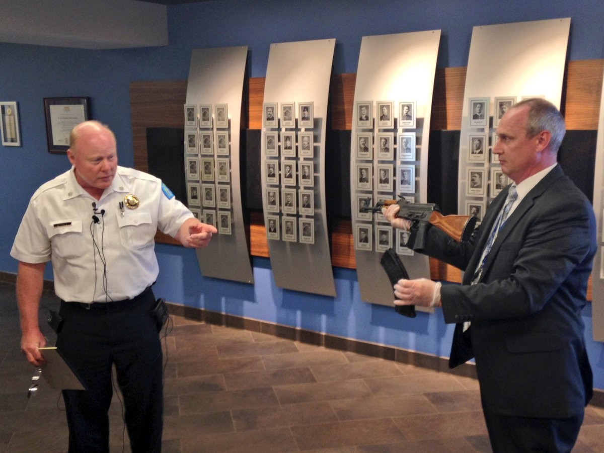 Louis police: Man killed after opening fire on officers