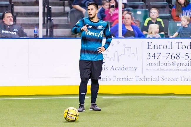 The St. Louis Ambush's own Victor France will play for the International team at the MASL Challenge. - COURTESY OF THE ST. LOUIS AMBUSH