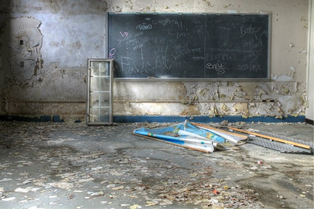 Abandoned St  Louis Schools Are Focus of New Photo Exhibit