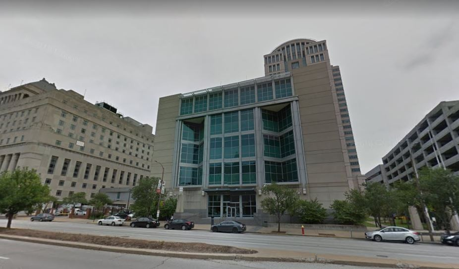 The St. Louis Justice Center was the setting for a deputy sheriff's scheme to isolate a female inmate. - VIA GOOGLE