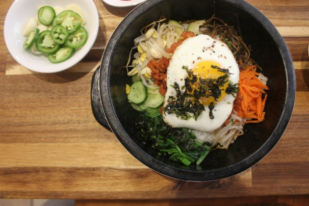 Seoul Garden serves the Korean staple, bibimbap. - CHERYL BAEHR
