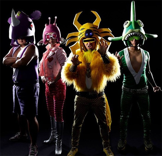 Peelander-Z will perform at Fubar on Wednesday, November 8. - PRESS PHOTO