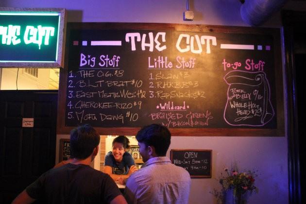 The Cut, from chef Ari Jo Ellis, is now open inside the Fortune Teller Bar. - CHERYL BAEHR