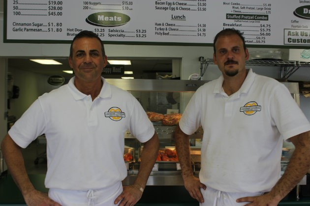 Damon Daher and Tony Simmons, owners. - CHERYL BAEHR