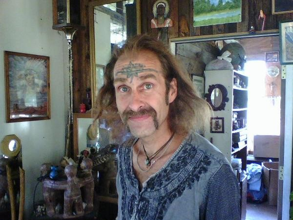 Chief Wana Dubie was born Joseph Bickell before legally changing his name in 2007. - RFT FILE PHOTO