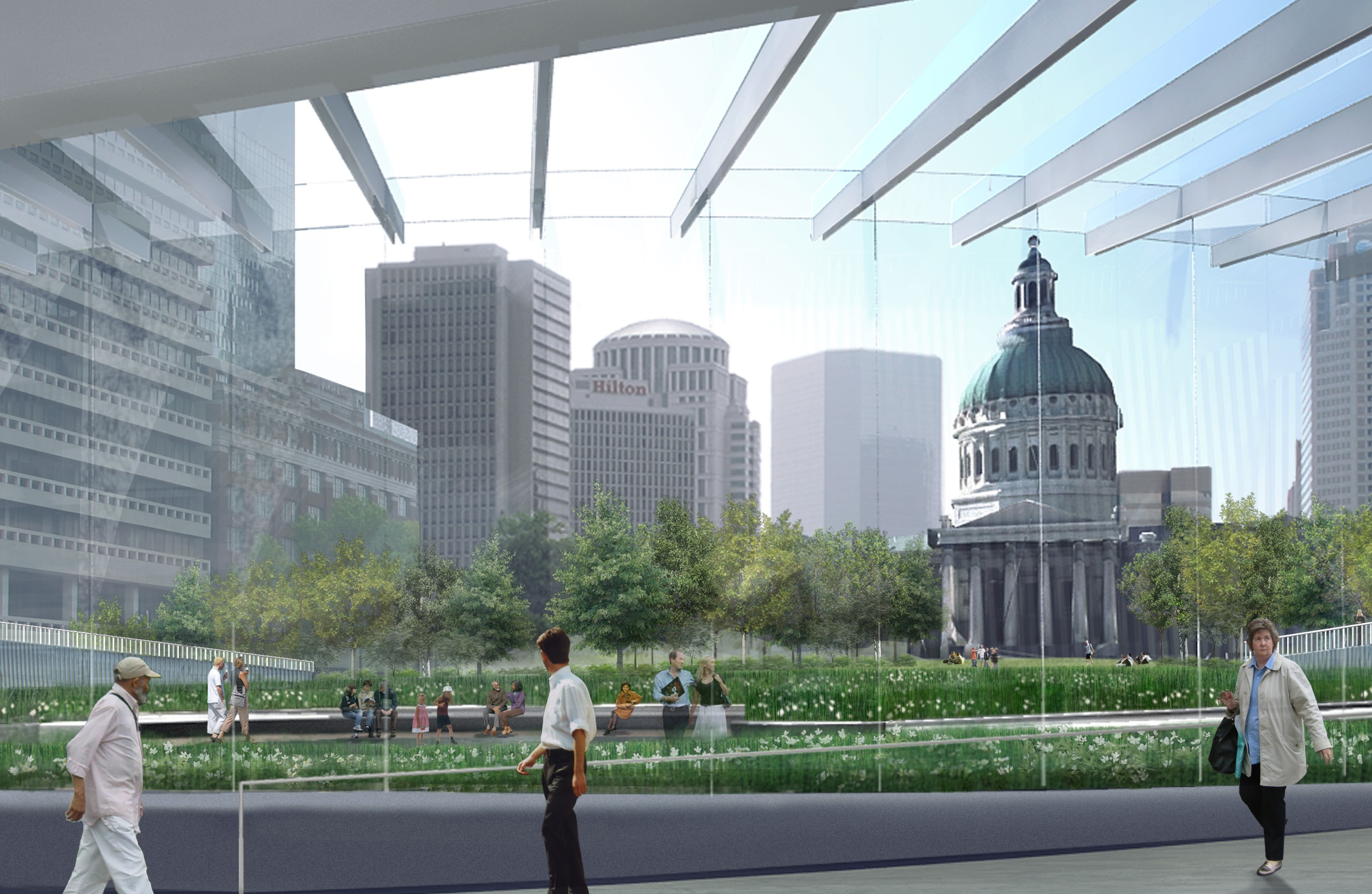 Gateway Arch Shows Off Progress On Visitor Center And Museum News Blog
