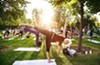 Yoga Buzz brings fitness lovers together.