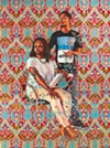 Kehinde Wiley; <i>Robert Hay Drummond, D.D. Archbishop of York and Chancellor of the Order of the Garter, 2018; (C) Kehinde Wiley. </i> Photo of the artwork by Theo Welling.